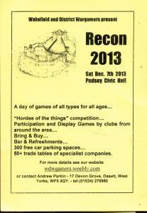 Recon 20131